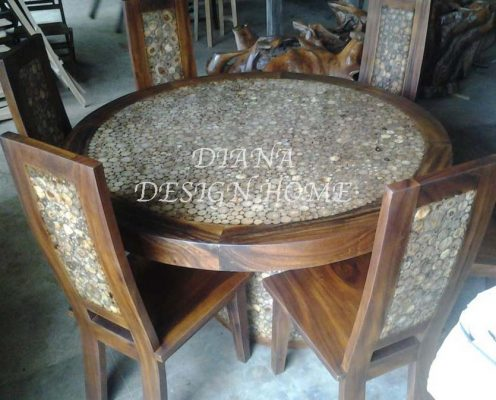 Dining Table Kayu IWDT 13