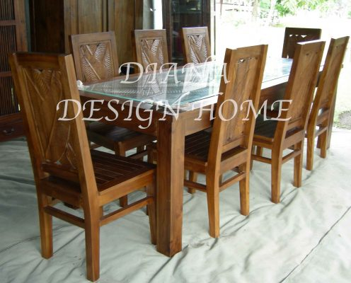 Dining Table Kayu IWDT 17